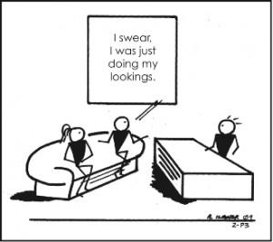 Cartoon Lookings