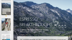 AMGA Article – Espresso Breakthroughs