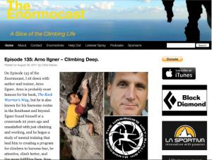 Enormocast – A Climbing Podcast