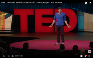Alex Honnold's Ted Talk
