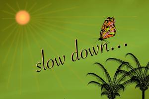 La lenteur est toujours plus rapide