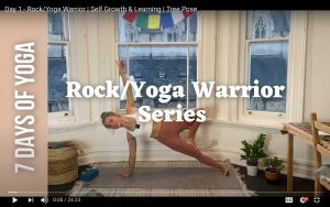 Read more about the article Rock/Yoga Warrior Workouts